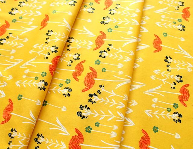 Art Gallery Fabrics Meadow Savanna Glow Golden