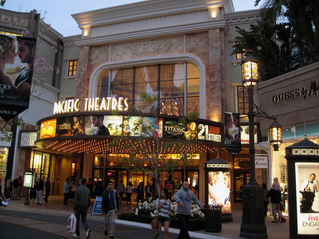 Pacific Theaters At The Americana In Glendale As This
