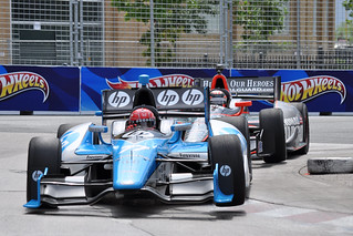 Pagenaud and Hildebrand, curb jumping in T.O. | by Richard Wintle