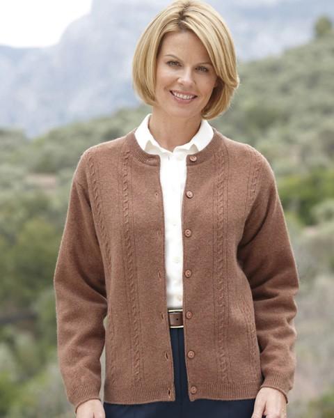 White Cardigan Sweater