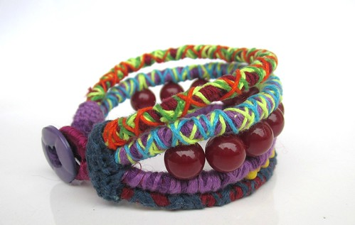 Colorful Bracelet. | by Pinkmind
