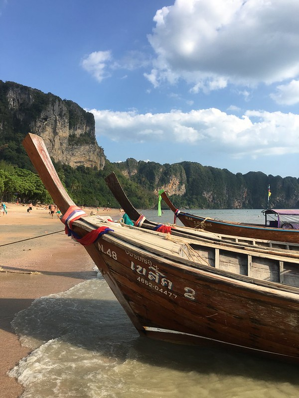 Viajar a Tailandia: longboats