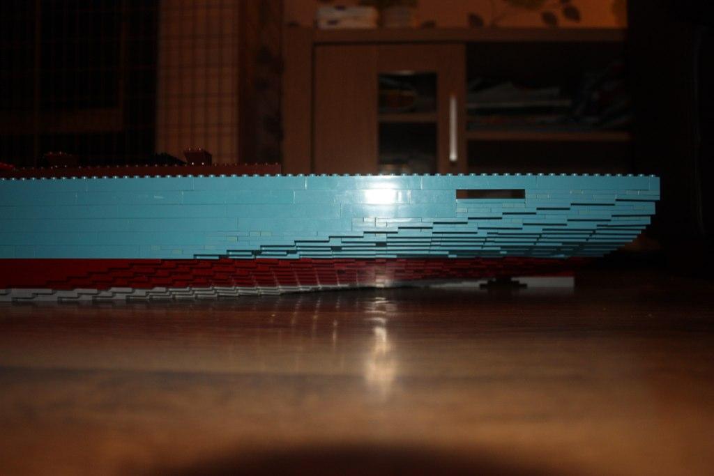 how to make a lego cargo ship