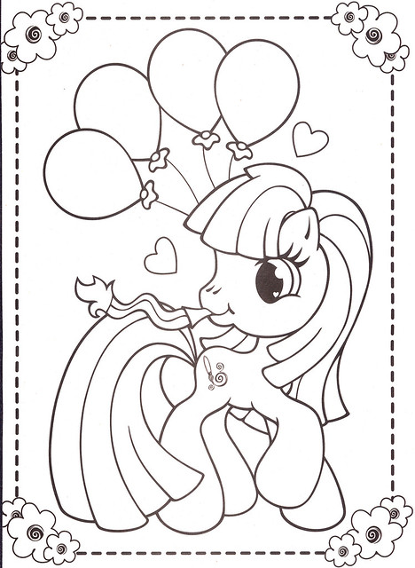 My Little Pony Hub Coloring Pages : Free coloring pages of my little pony september