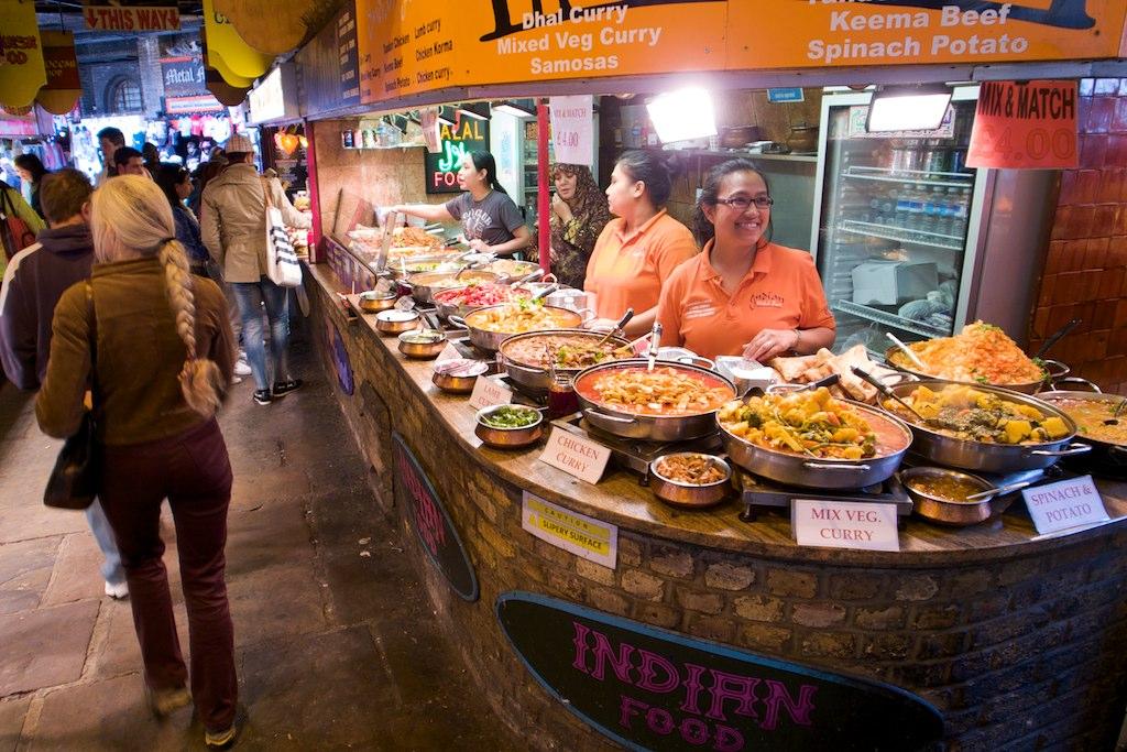 Camden Market Food Stall Hire