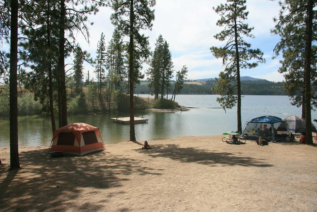 Cloverleaf Campsite A Quiet Campsite On 8 14 11 Image