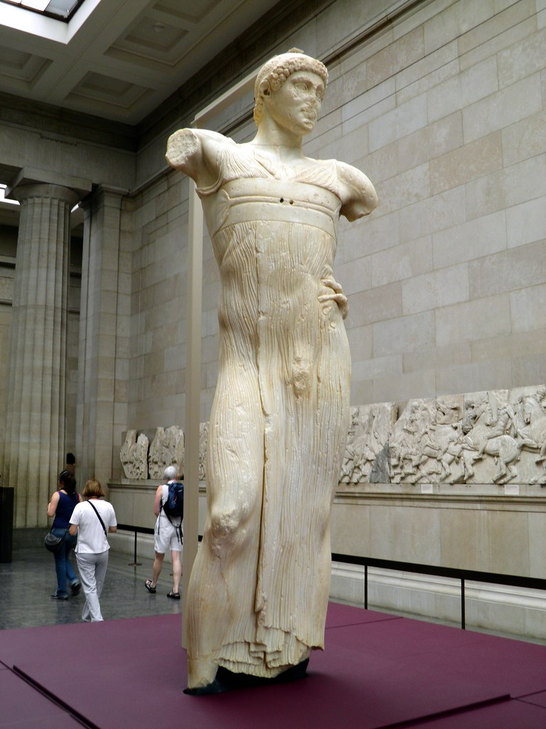 The Motya Charioteer Made By A Greek Sculptor In Sicily