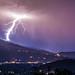 lightning hitting snowmass colorado
