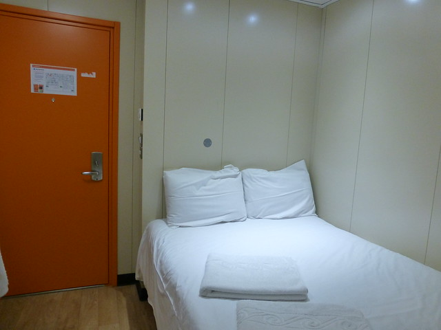 Easy Hotel London Room Size