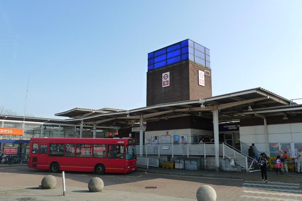 Tottenham Hale Station A Station Near The End Of The