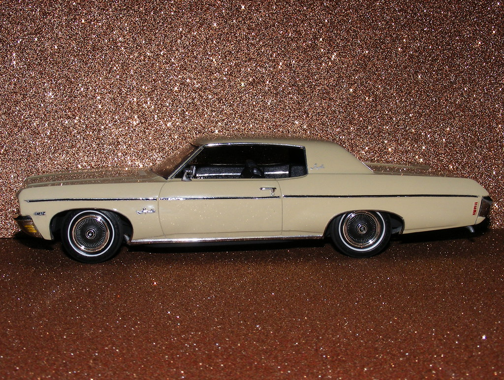 1970 chevrolet impala 1 25 scale model car amt mpc 1970. Black Bedroom Furniture Sets. Home Design Ideas