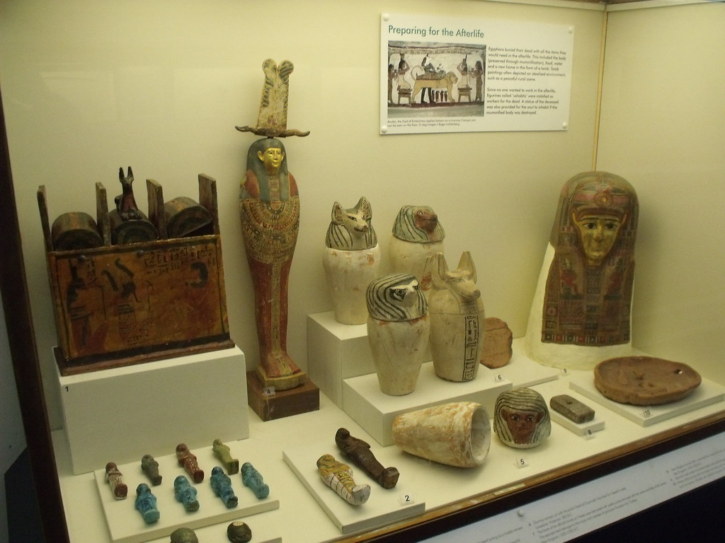 Exhibition Room D : Birmingham museum art gallery ancient egypt preparin