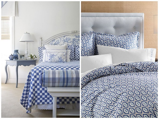 Blue and white bedding flickr photo sharing