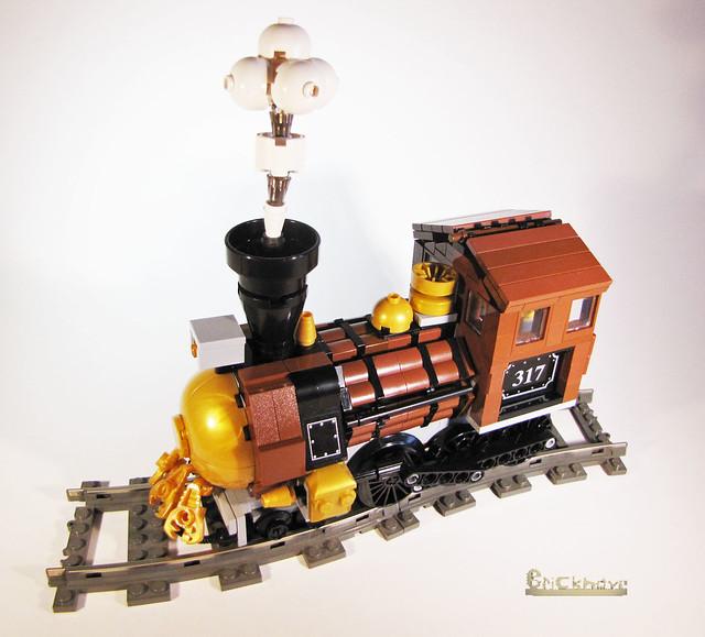 Lego Steampunk Train Steampunk Train Engine