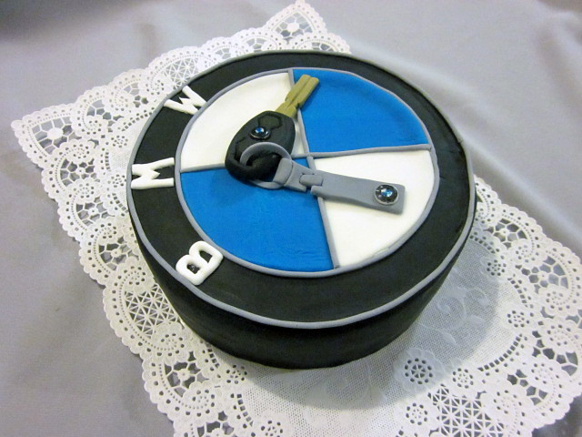 BMW Keychain Birthday Cake | Lyudmila Ivanova | Flickr