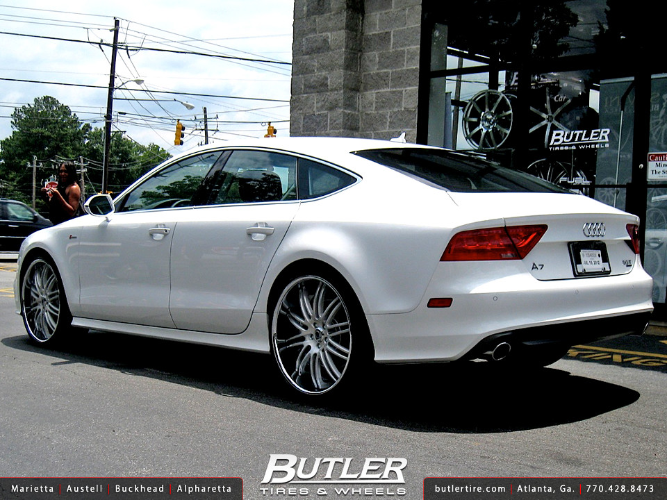 Audi Of Atlanta >> Audi A7 with 22in Asanti DA504 Wheels   Additional Picture ...