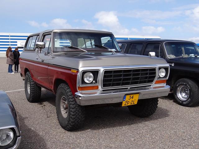 ford bronco 1980 характеристики