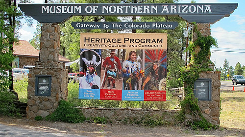 Hopi Festival - Museum of Northern Arizona - Entrance
