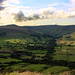 evening clouds over Edale