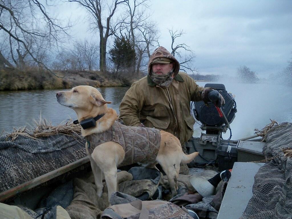 mark kakatsch heads out for a hunt on horicon marsh