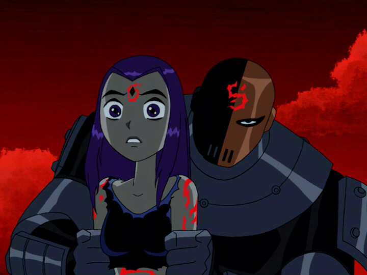 Raven Teen Titans Birthmark-6760
