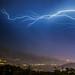 lightning over aspen colorado