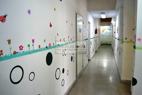 Decoraci n de sala maternal imagui for Decoracion jardin maternal