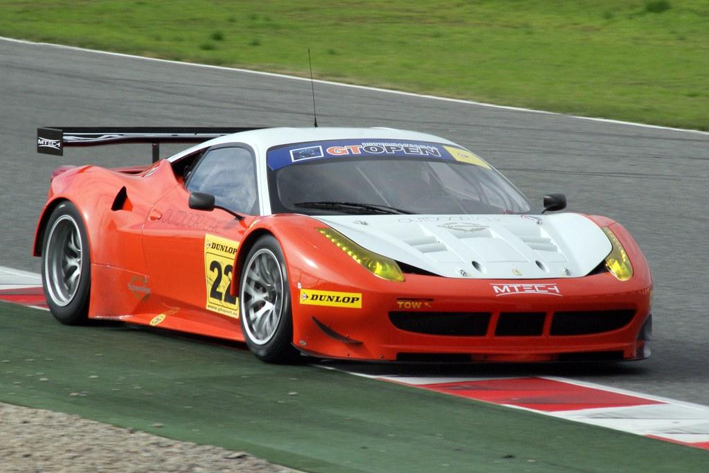 2012 D Cameron M Griffin Ferrari 458 Gt Italia Int