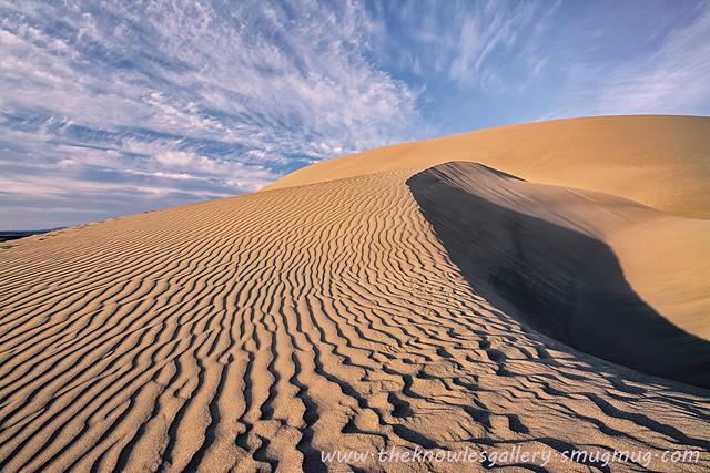 Bruneau Sand Dune sunset