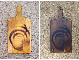 Before & After: Aged Cutting Board | by TheBrewer&TheBaker