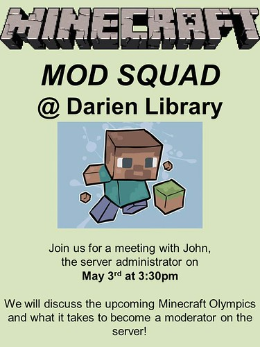 Minecraft Mod Squad | by Darien Library