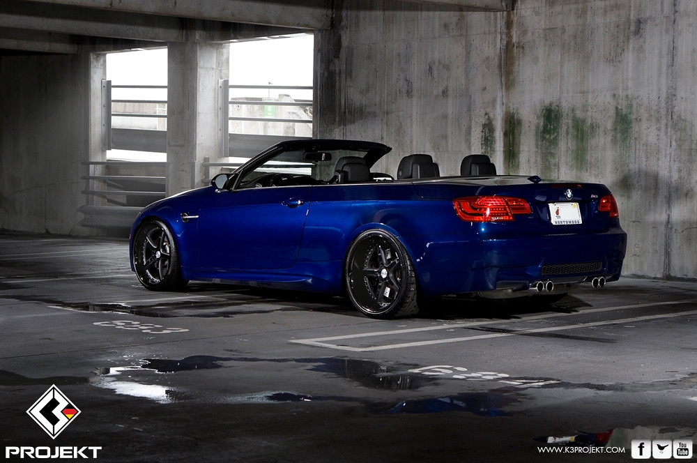 Bmw E93 On K3 Projekt Projekt 1 Wheels 20x9 Amp 20x11 Custom