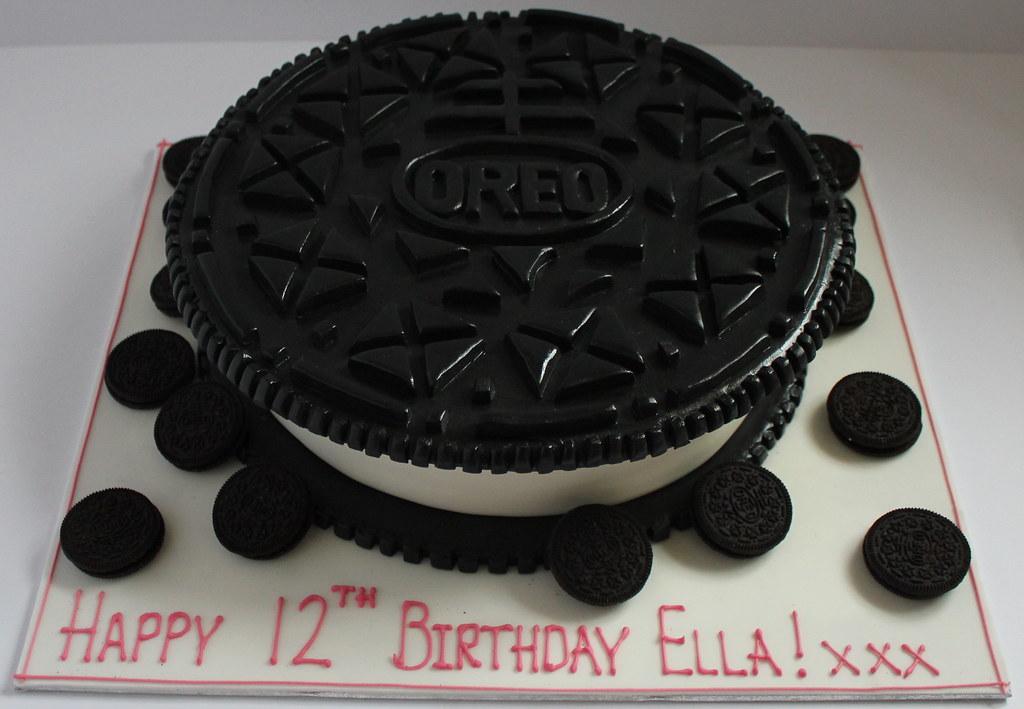 Giant Oreo Cake Pauls Creative Cakes Flickr