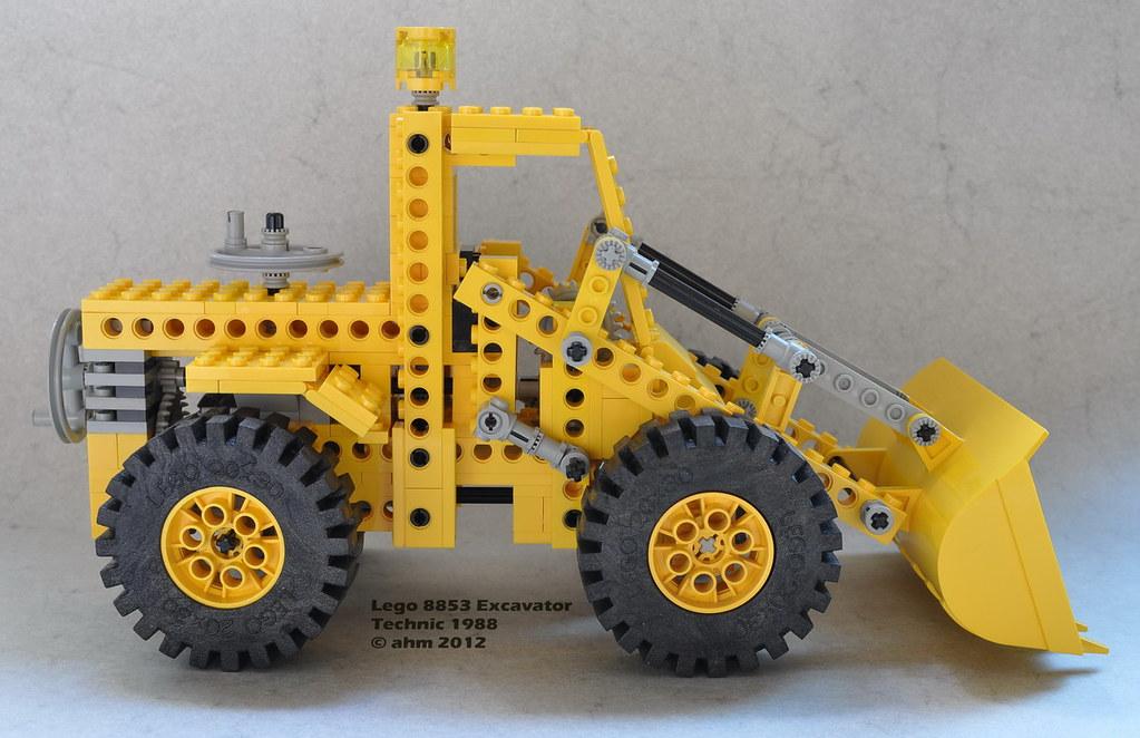 lego technic 8853 excavator lego technic 8853 excavator. Black Bedroom Furniture Sets. Home Design Ideas