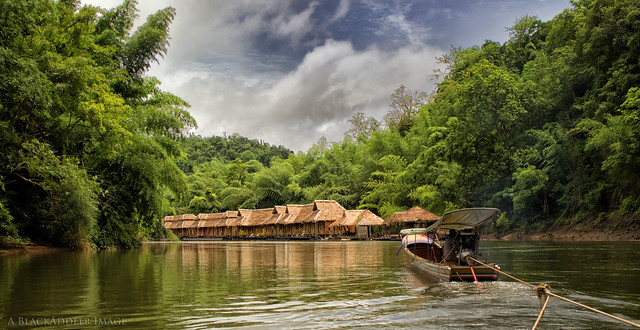 Floating Hotel on the River Kwai