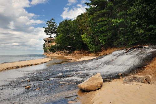 """Chapel Beach"" Pictured Rocks National Lakeshore 