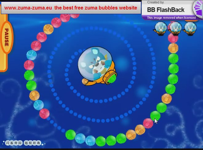 zuma flash game
