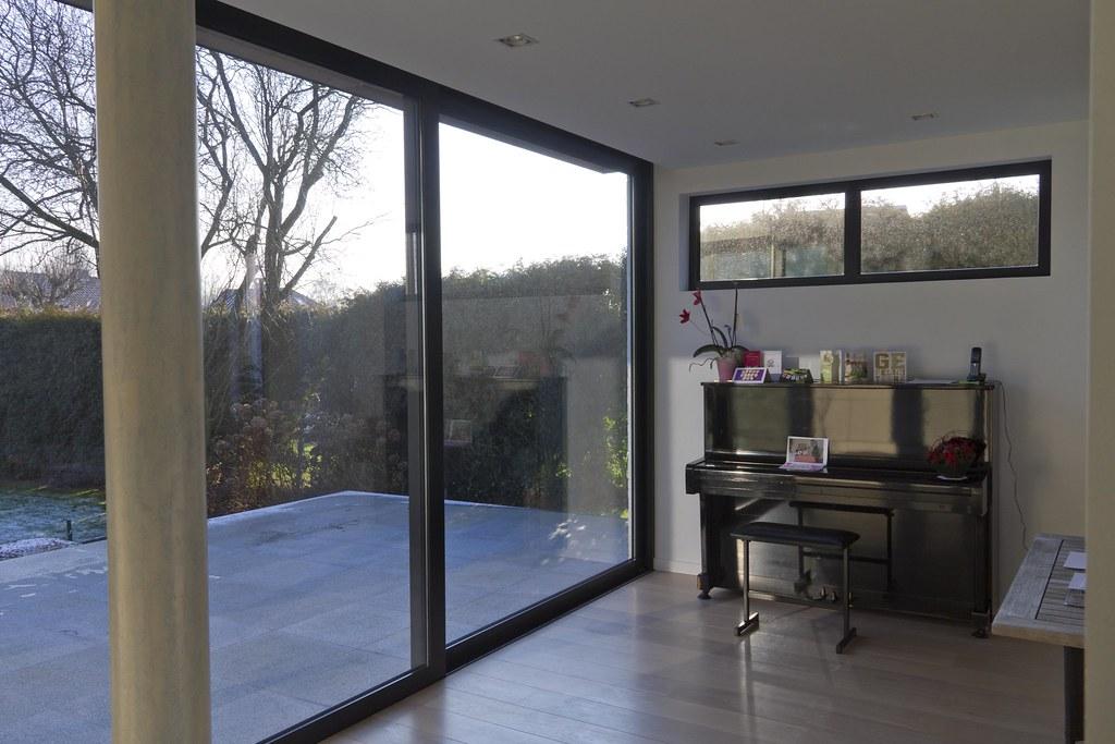 Veranda modern uitbouw modern voor keuken leefruimte flickr - Keuken verandas ...