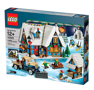 10229 Winter Village Cottage - box2 na | by fbtb