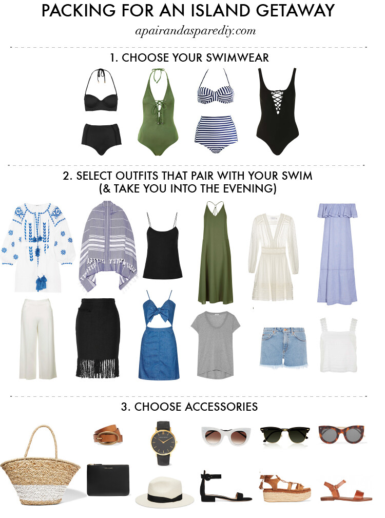 2e681d9ed6a6 How to Pack for an Island Getaway