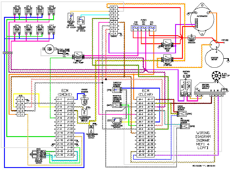 mefi 4b mefi4b indmar malibu mefi 4 wiring diagram in flickr