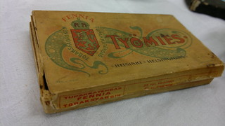 Old Työmies cigarette box | by hugovk