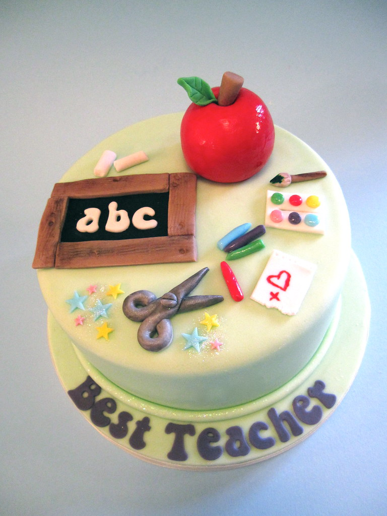 Pictures Of Birthday Cakes For Teachers