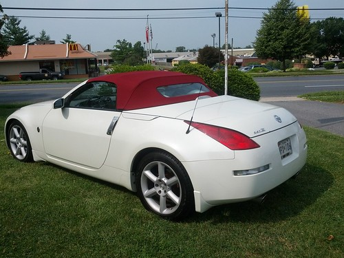 2004 350z nissan convertible top flickr photo sharing. Black Bedroom Furniture Sets. Home Design Ideas