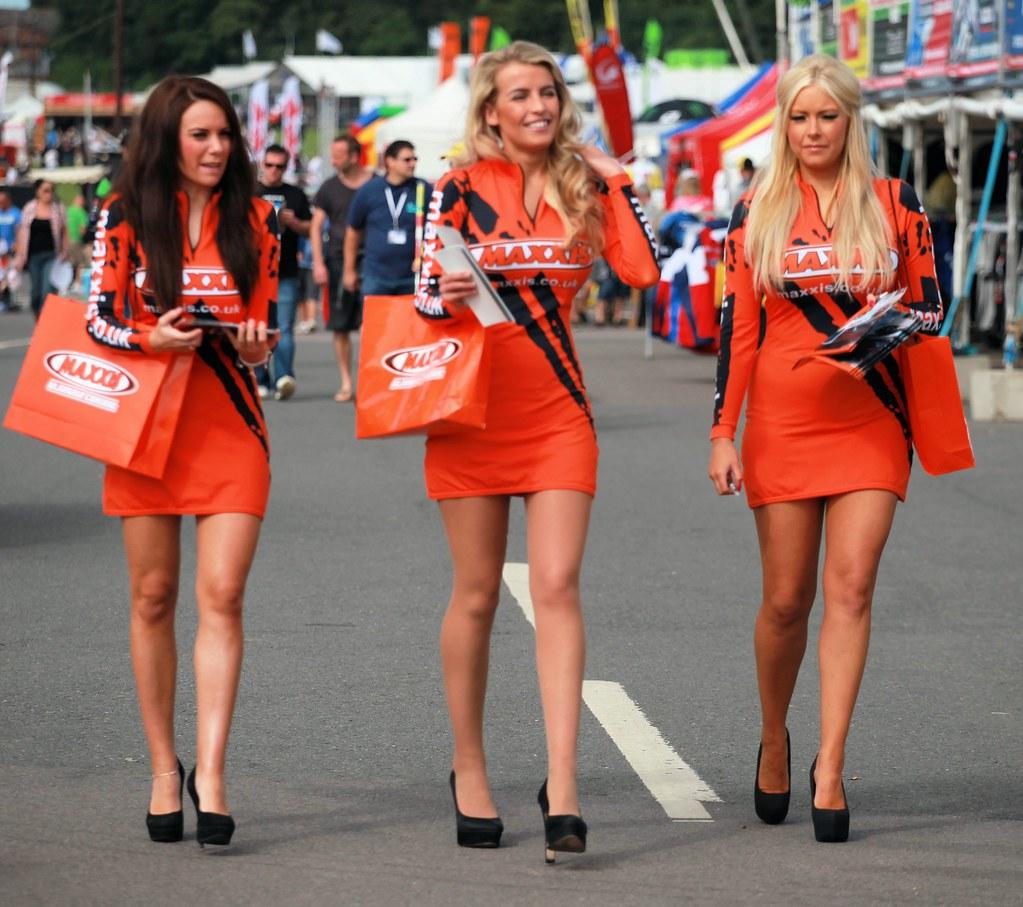 Grid Girls | British Superbikes race at Brands Hatch. Id