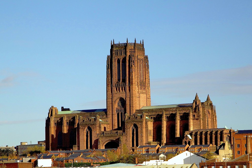 The Liverpool Anglican Cathedral Liverpool Cathedral Is