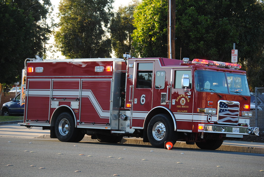 El Cajon Fire Department (Heartland Fire Rescue) Engine 6 ...