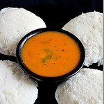 Thakkali sambar for idli - Mom's special