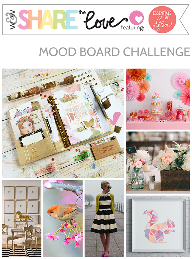 share the love Essentials by Ellen mood board challenge 640
