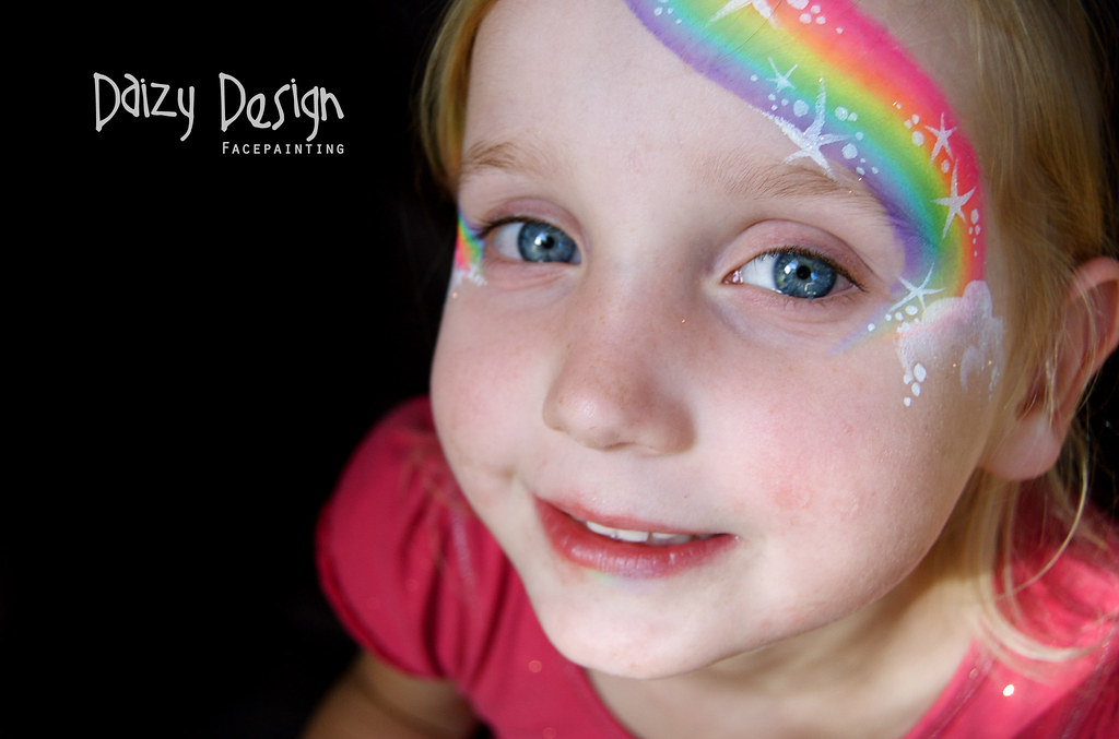Rainbow Face Painting | Daizy Design Face Painting, www ...